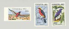 Mali #C2-C4 Birds 3v Imperf