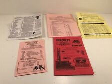 Hit & Miss Enterprises General Parts Listing 1993 Orwell, OH