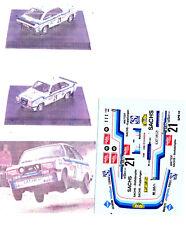 Decals 1/43e Ford Escort RS 2000 Haug Stuttgart 1979 Trofeu