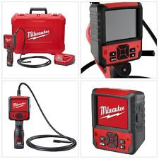 Milwaukee Inspection Camera Cable Kit 9 ft. 12V Lithium-Ion Cordless Hard Case