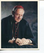 Aloysius Ambrozic Catholic Cardinal Archbishop of Toronto Signed Autograph Photo