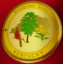 Kentucky Bluegrass State new mount hiking medallion badge stocknagel G5309
