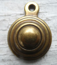 ANTIQUE BRASS BED BOLT COVERS - SET OF TWO