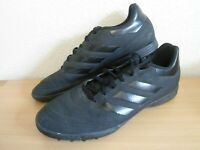 Adidas Goletto VI TF Astro Turf Indoor Football Shoes Trainers Black - Size 10.5