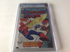 MARVEL TEAM UP 116 CGC 9.8 WHITE PAGES VALKYRIE THOR SPIDER-MAN A BEAUTY MARVEL