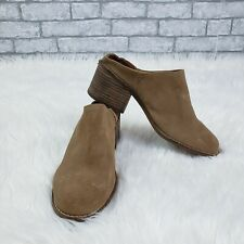 TOMS Women's Size 8.5 Toffee Brown Suede Leila Mule Clogs `Sandals