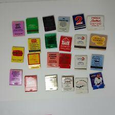 Collection Vintage Matchbooks Tennessee Nashville Franklin Ashland Tourist 20+