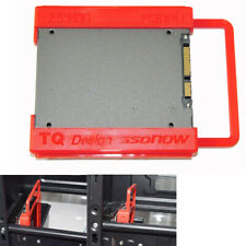"""UK 2.5"""" to 3.5"""" SSD to HDD Screw-less Mounting Adapter Bracket Hard Drive Holder"""
