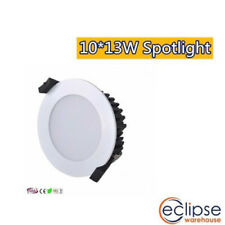 10 X 13w Dimmable LED Downlight Kit Neutral White SSA Approved