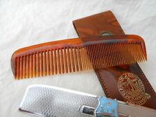 Ancien peigne souvenir FOLKESTONE , blason  bateau , Nuroid + étui