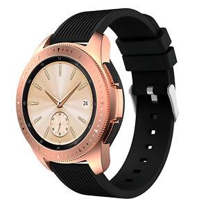 StrapsCo 20mm Rubber Watch Strap for Samsung Galaxy Watch Active, Gear S2