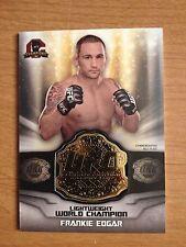 2014 Topps UFC Champions Commemorative Belt Plate relic card Frankie Edgar +