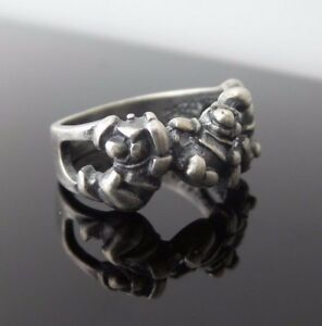 DISNEY Winnie the Pooh Vintage Sterling Silver 925 Ring Size 5.5