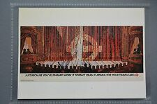 R&L Modern Postcard: Poster 1986 Theatre, Curtains for Your Travelcard