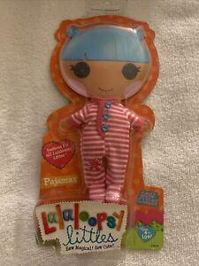 NEW! Lalaloopsy Littles Doll Fashion Pack, Pink & White Pajamas
