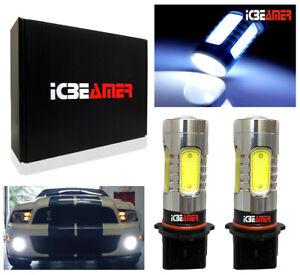 COB LED 5202 P13W Projector lense White Fog Light bulbs Replace Halogen