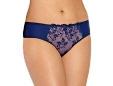 Luna Panties Navy Blue Embroided S-XL Wiesmann