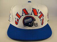 New York Giants NFL Vintage 2X Super Bowl Champions Snapback Hat Cap White Blue