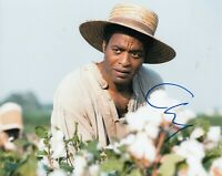 CHIWETEL EJIOFOR signed (12 YEARS A SLAVE) Movie 8X10 photo *Solomon* W/COA #1