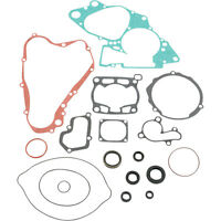 Moose Racing Gasket Kit Set w Oil Seals for 1991 Suzuki RM125  - M811545