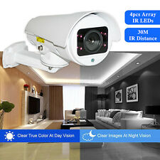 POE 1080p IP HD Mini PTZ Bullet CCTV Camera 30m IR 4x Zoom Home Security Cam