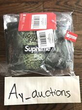 Supreme The North Face Snakeskin Flyweight Duffel Bag Green Authentic *IN HAND*