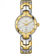 Tag Heuer Link Two-tone Diamond Ladies Watch Wat1450.bb0955