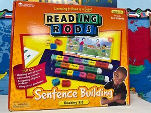 Learning Resources Reading Rods Simple Sentences Classroom Homeschool Reading