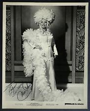 Mae West Autograph Signed Photograph 8750 Original Not Facsimile