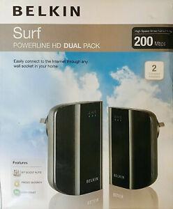 Belkin Surf Powerline HD Dual Pack