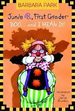 Junie B First Grader Boo And Mean It Paper back 2004 Junie B Jones