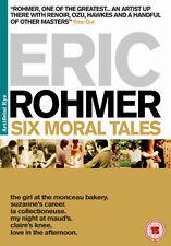 ERIC ROHMER - SIX MORAL TALES - DVD - REGION 2 UK