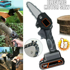 550W 24V Mini One Hand Saw Woodworking Electric Chain Saw Wood Cutter Cordless