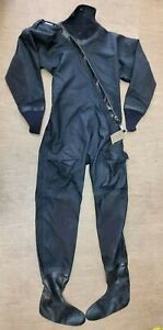 Genuine UKSF SAS Black Immersion Suit Integral Socks Size Extra Large (XL) #303