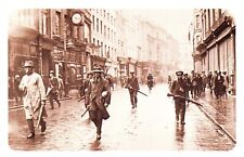 Nostalgia Postcard IRA March in Dublin July 1922 Reproduction Card NS32