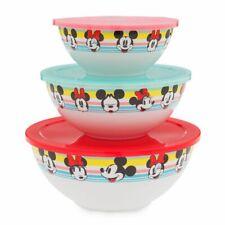 Disney Store Disney Eats Mixing bowl set of Three New