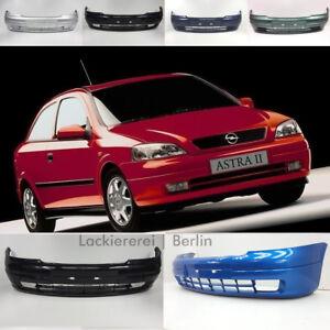 Opel Astra 2 G 1998-2005 STOßSTANGE Frontschürze VORNE LACKIERT IN WUNSCHFARBE