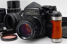 [NEAR MINT] Pentax 6x7 67 Late Mup TTL + SMC T 75,105,200mm Lens from Japan #228