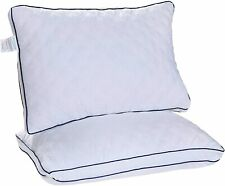 Bed Pillows Set of 2 Gusseted Pillows for Side and Back Sleepers King Queen Size