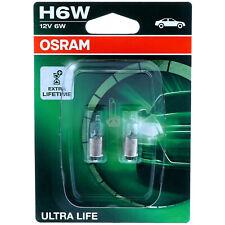 H6W OSRAM Ultra Life - 3x längere Lebensdauer - Scheinwerfer Lampe DUO-Box
