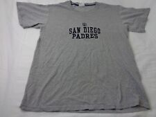 Vintage Lee Sport San Diego Padres Gray T-shirt Size Medium