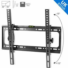 FLAT LCD LED PLASMA TV WALL MOUNT BRACKET TILT 26 27 32 37 40 42 46 47 50 52 55