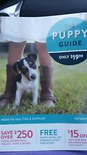 NEW PETSMART PUPPY COUPON BOOK