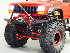 For Traxxas TRX-4 Upgrade Front METAL BUMPER Bull Nose Lightweight W/ LED
