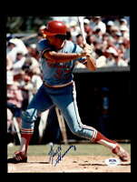Keith Hernandez PSA DNA Coa Hand Signed 8x10 Photo Autograph