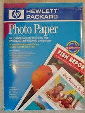 """HP Photo Paper 20 Sheets 8.5"""" x 11"""" Satin-gloss Heavy-weight New Sealed Package"""