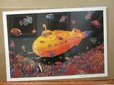 Yellow Submarine 1998 Poster orig  unused 2712