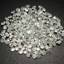 White Round Diamond Natural Single Cut 2 Pcs 0.80 mm G-H Color gtc
