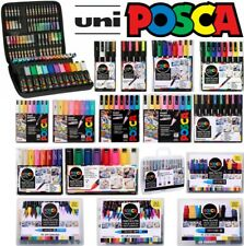 Uni Posca Paint Marker Kits Cases, Sets, Packs, All Options Pastel & Mega Packs