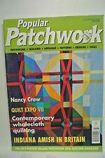 Popular Patchwork magazine. Vol. 8. No. 5. July/August, 2000. Quilt Expo VII.